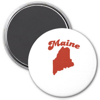 MAINE Red State Magnets