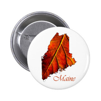 Maine Souvenir Gift Item 6 Cm Round Badge