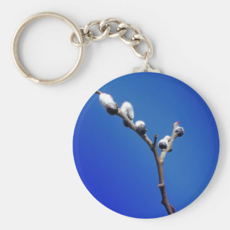 Maine Spring Basic Round Button Key Ring
