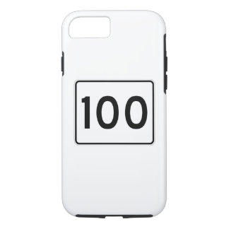 Maine State Route 100 iPhone 7 Case