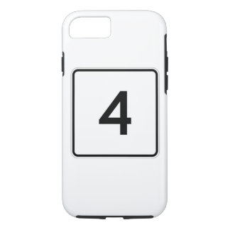 Maine State Route 4 iPhone 7 Case