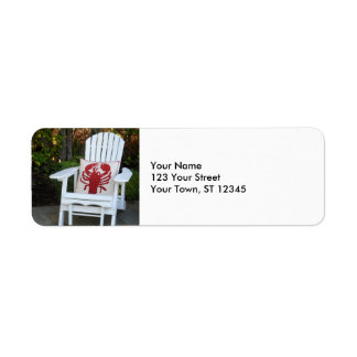 Maine Summer Return Address Label