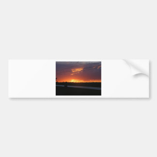 Maine Sunset Bumper Sticker