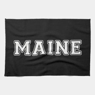 Maine Tea Towel