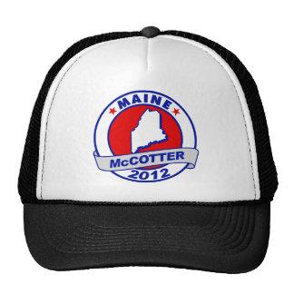 Maine Thad McCotter Hat