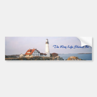Maine, The Way Life Should Be Bumper Sticker