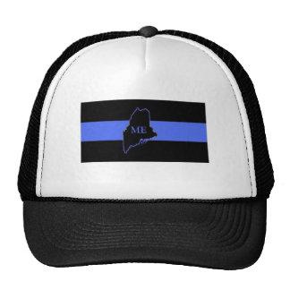 Maine Thin Blue Line trucker hat