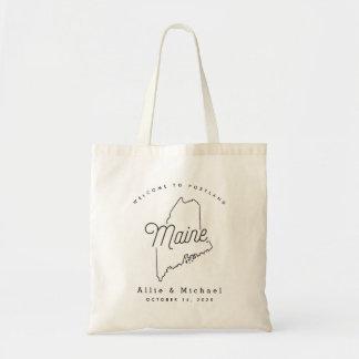 Maine Wedding Welcome Tote Bag