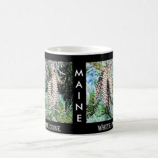 Maine White Pine Cone Coffee Mug