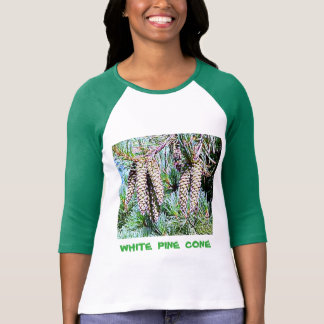 Maine White Pine Cone T-Shirt