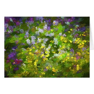 Maine Wildflowers Card