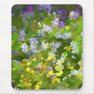 Maine Wildflowers Mouse Pad