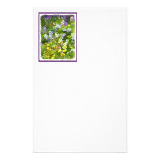 Maine Wildflowers Stationery