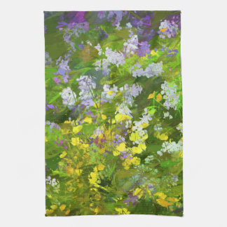 Maine Wildflowers Tea Towel