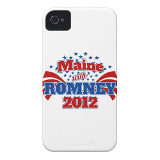Maine with Romney 2012 Case-Mate iPhone 4 Cases