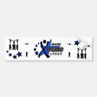 Maine Xtreme Cheer Bumper Sticker Car Bumper Sticker