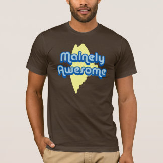 Mainely awesome (blue/yellow) T-Shirt