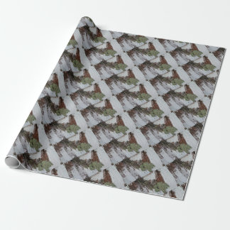 Mainely Birch Wrapping Paper