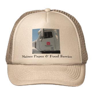 Maines Paper & Food Service Cap