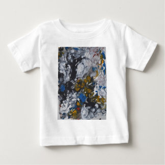 Mainly White Leaves Baby T-Shirt