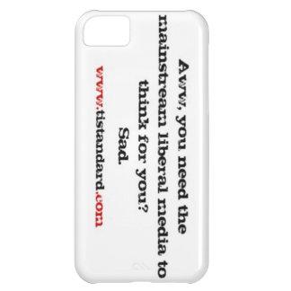 Mainstream Liberal Media iPhone 5C Cases