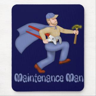 Maintenance Man Mouse Pad