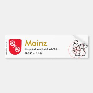 Mainz 1 bumper sticker