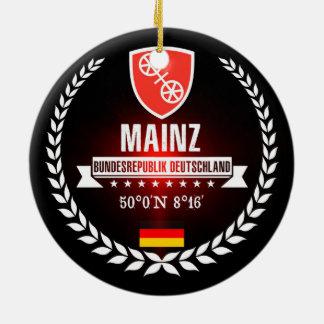 Mainz Ceramic Ornament