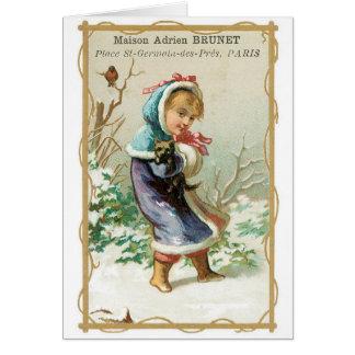 Maison Adrien Brunet Greeting Card