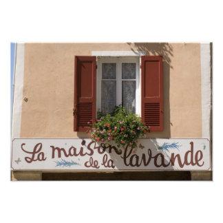 Maison de la Lavande, Place du Couwert, Photographic Print