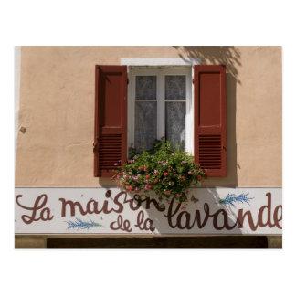 Maison de la Lavande, Place du Couwert, Postcard