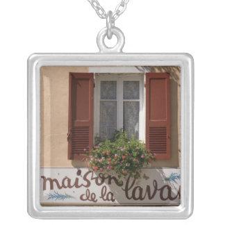 Maison de la Lavande, Place du Couwert, Square Pendant Necklace