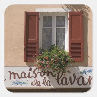 Maison de la Lavande, Place du Couwert, Square Sticker