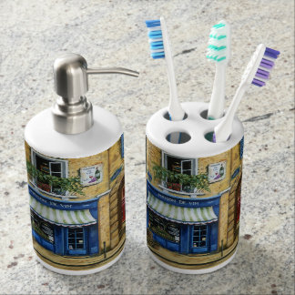 Maison de Vin Soap Dispensor and Toothbrush Holder