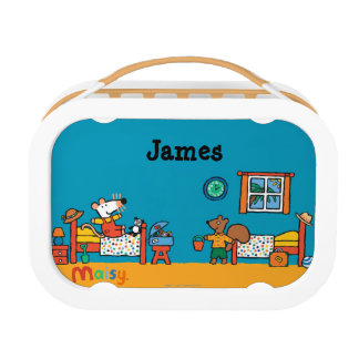 Maisy and Cyril Go on Vacation Scene Lunchboxes