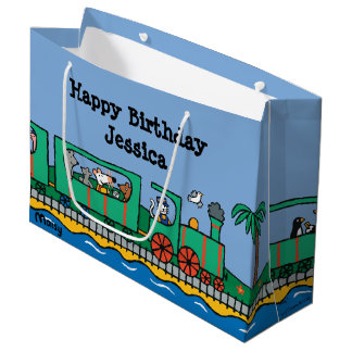 Maisy and Friends Birthday Large Gift Bag