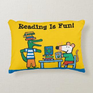 Maisy and Friends Enjoy the Library Decorative Cushion