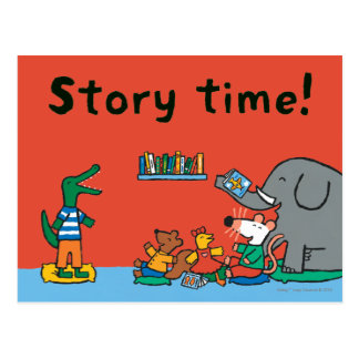 Maisy and Friends Laugh at Story Time Postcard