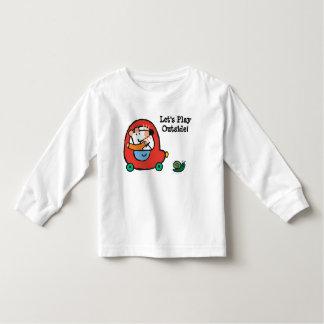 Maisy Drives a Cute Red Car Toddler T-Shirt