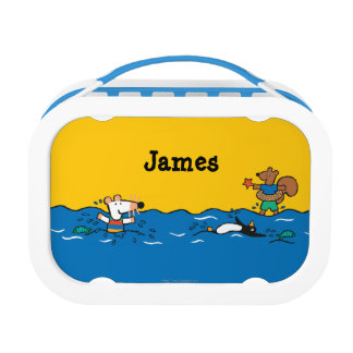 Maisy Goes Swimming at the Beach Lunch Boxes
