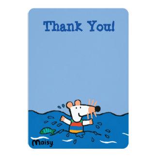 Maisy Goes Swimming Birthday Card