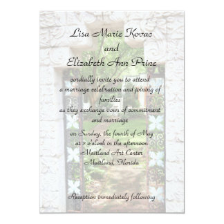 Maitland Art Center Commitment Ceremony Personalized Invitations