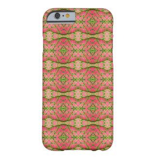 Majenta and Green Caladium iPhone Case