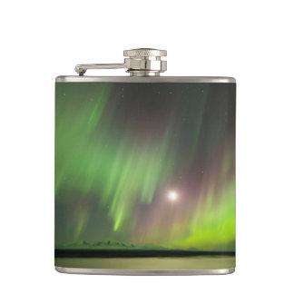 Majestic Aurora Hip Flask