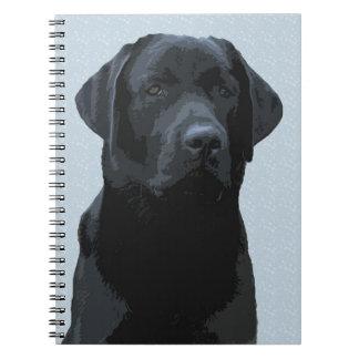 Majestic Black Labrador Notebooks