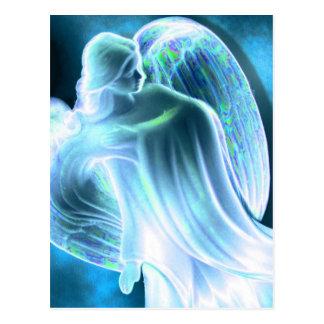 Majestic Blue Angel Postcard