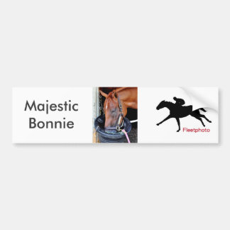 Majestic Bonnie Bumper Sticker