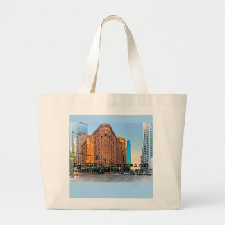 Majestic Brown Palace Hotel At Sunset, Denver, CO Large Tote Bag