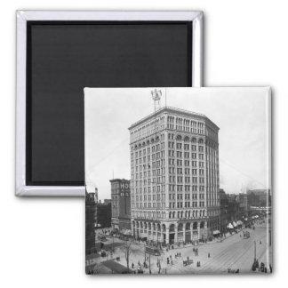 Majestic Building, Detroit: 1899 Fridge Magnet