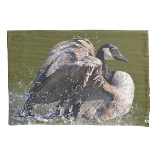 Majestic Canada Goose Pillowcase